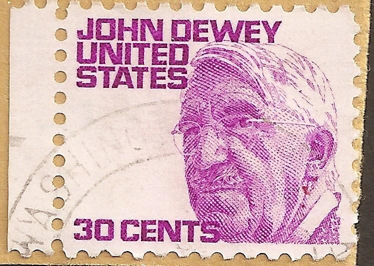 Timbre USA John Dewey