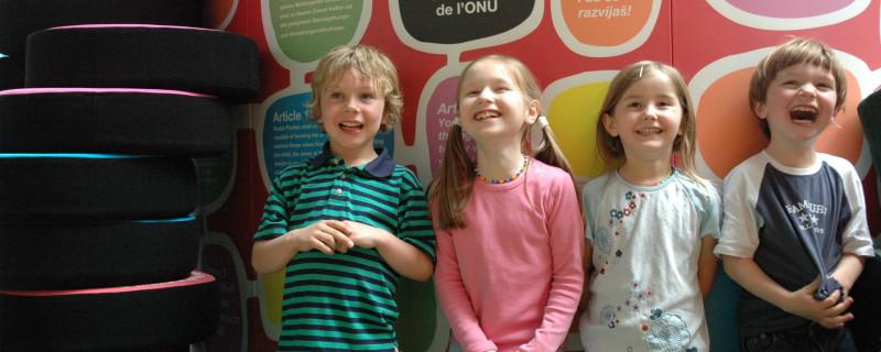 Labyrinth Kindermuseum Kinderrechte