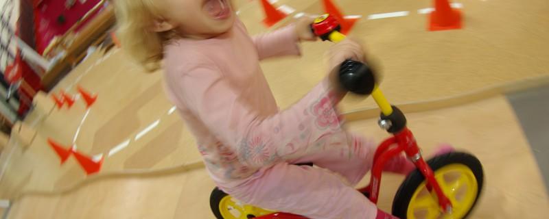 Neue Laufräder fürs Labyrinth Kindermuseum